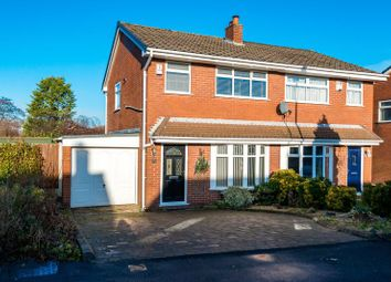 Thumbnail 3 bed semi-detached house for sale in Broadacre, Standish, Wigan