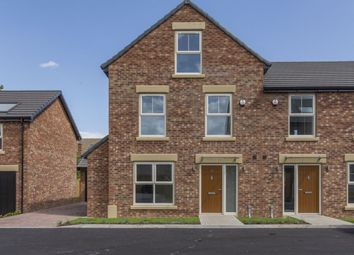 Thumbnail 4 bed semi-detached house for sale in Holly Grove, Thorpe Willoughby, Selby