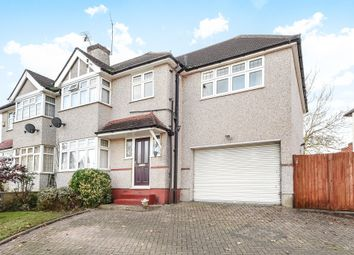 Thumbnail 4 bed semi-detached house for sale in Shawford Road, West Ewell, Epsom