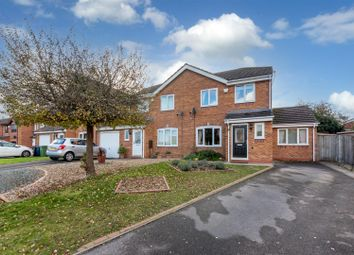 Thumbnail Semi-detached house for sale in The Ridgeway, Stafford