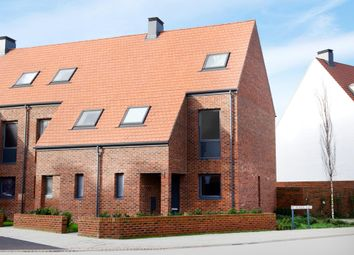 "Thumbnail 3 bed terraced house for sale in ""Clover"" at Derwent Way, York"
