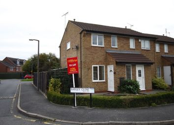 Thumbnail 2 bed property to rent in Barley Close, Stretton, Burton Upon Trent, Staffordshire