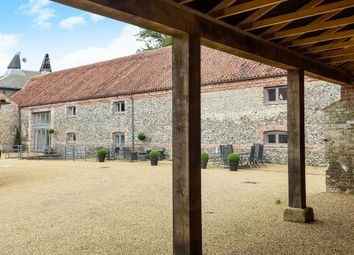 Thumbnail 3 bed barn conversion for sale in Holt Road, Letheringsett, Holt