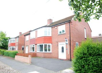 Thumbnail 3 bed semi-detached house to rent in Whalton Avenue, Gosforth
