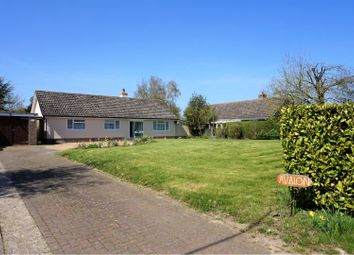 Thumbnail 3 bed detached bungalow for sale in Redlingfield Road, Occold, Eye