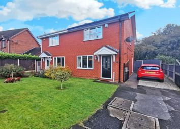Thumbnail 2 bed semi-detached house for sale in Poolhill Close, Blurton, Stoke-On-Trent