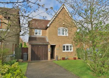 Thumbnail 4 bedroom detached house for sale in Saddlers Way, Burbage, Marlborough