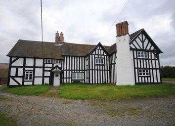 Thumbnail 5 bed farmhouse to rent in Hodnet, Market Drayton