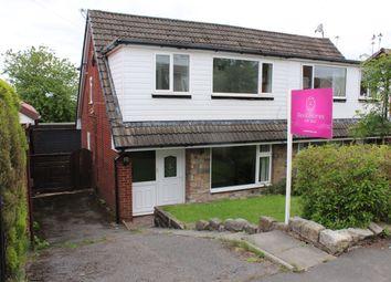 Thumbnail 3 bed semi-detached house for sale in Woodbank Road, Smithybridge, Littleborough