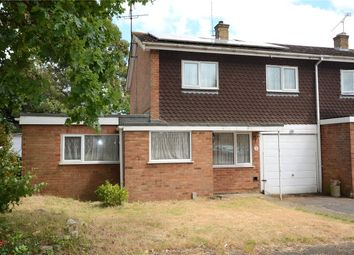 Thumbnail 3 bed end terrace house to rent in Bran Close, Tilehurst, Reading, Berkshire