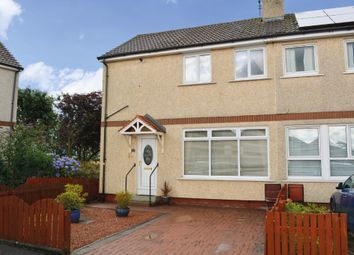 Thumbnail 2 bedroom semi-detached house for sale in Lamont Crescent, Fallin, Stirling
