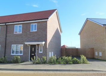 Thumbnail 3 bed semi-detached house to rent in Henderson Road, Thorpe-Le-Soken, Clacton-On-Sea
