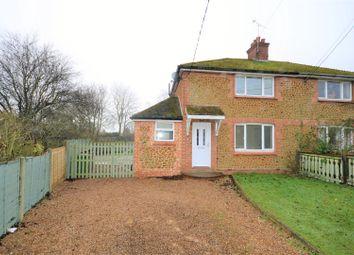 Thumbnail 3 bed semi-detached house for sale in Kenside Road, Snettisham, King's Lynn