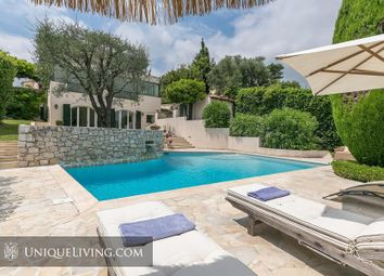 Thumbnail 6 bed villa for sale in Cagnes Sur Mer, Vence, French Riviera