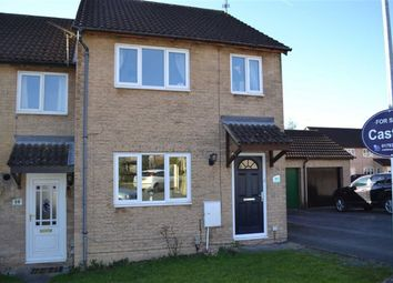 Thumbnail 3 bed end terrace house for sale in Bramwell Close, Swindon
