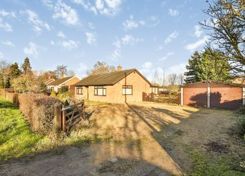 Thumbnail 2 bed detached bungalow for sale in Alburgh Road, Hempnall, Norwich