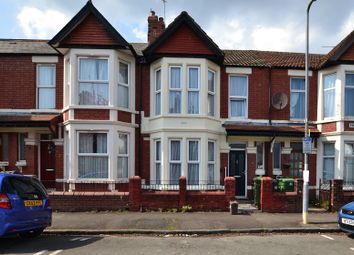 Thumbnail 3 bed terraced house for sale in Pen-Y-Bryn Road, Roath, Cardiff.