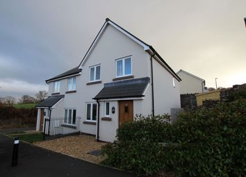 Thumbnail 3 bed semi-detached house for sale in St. Davids Park, Llanfaes, Brecon