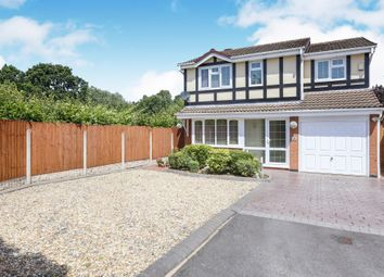 Thumbnail 4 bedroom detached house for sale in Seaforth Grove, Coppice Farm, Willenhall