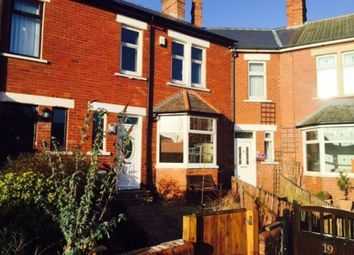 Thumbnail 3 bed terraced house to rent in Rockcliffe Avenue, Whitley Bay