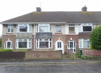 Thumbnail 3 bed terraced house for sale in Dale Avenue, Weymouth, Dorset