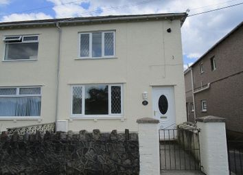 Thumbnail 3 bed semi-detached house for sale in William Street, Ystradgynlais, Swansea.