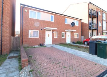 Thumbnail 3 bed semi-detached house to rent in Frinsted Garden, Ashford
