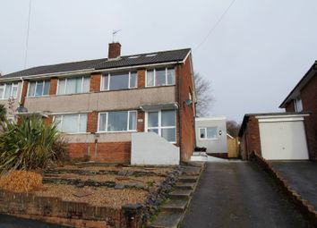 Thumbnail 3 bed semi-detached house for sale in Landor Avenue, Killay