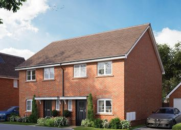 Thumbnail 3 bed semi-detached house for sale in Barn Road, Longwick, Buckinghamshire