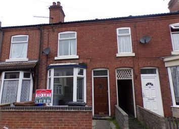 Thumbnail 3 bed terraced house for sale in Calais Rd, Burton On Trent, Staffordshire