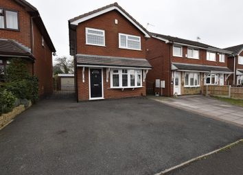 Thumbnail 3 bed detached house for sale in Minerva Close, Knypersley, Stoke-On-Trent