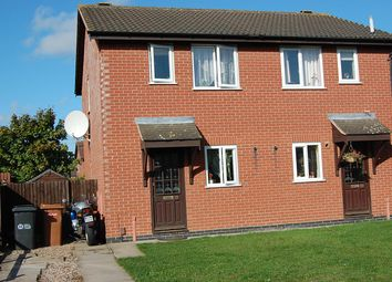 Thumbnail 2 bed semi-detached house to rent in Lodge Close, Melton Mowbray