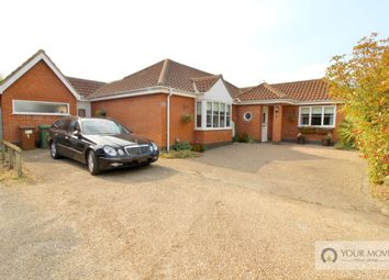 Thumbnail 3 bed bungalow for sale in Jex Way, Hopton, Great Yarmouth