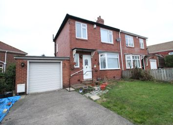 Thumbnail 3 bedroom semi-detached house for sale in Turret Road, Denton Burn, Newcastle Upon Tyne