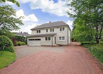 Thumbnail 3 bed detached house for sale in Medwyn Road, West Linton