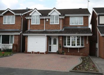 Thumbnail 4 bedroom detached house for sale in Barley Close, Glenfield, Leicester