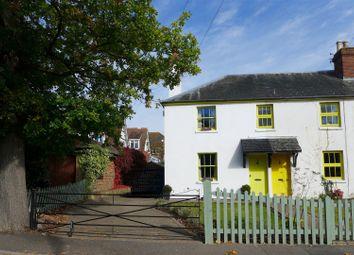 Thumbnail 2 bed semi-detached house for sale in Causeway Cottages, Chiddingstone Causeway, Tonbridge