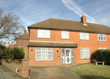 Thumbnail 5 bed semi-detached house to rent in The Greenway, Epsom