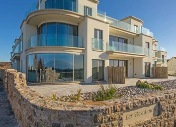 Thumbnail 3 bed flat for sale in Les Residences, Cobo Bay, Castel