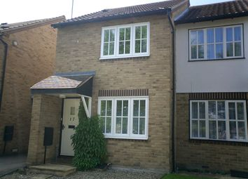 Thumbnail 2 bed terraced house to rent in The Elms, Haslingfield, Cambridge