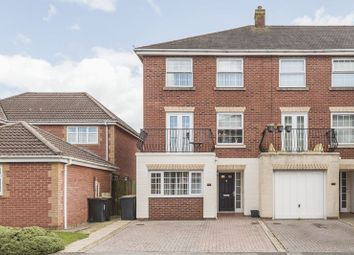 Thumbnail 4 bed end terrace house for sale in Cambrian Gardens, Marshfield, Cardiff