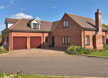 Thumbnail 4 bedroom detached house for sale in Oram Court, Spellbrook, Bishops Stortford