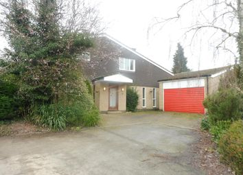 Thumbnail 4 bedroom detached house to rent in Stoughton Close, Oadby, Leicester