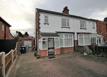 Thumbnail 3 bed semi-detached house to rent in Littleover Lane, Derby