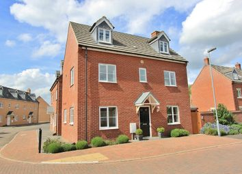 Thumbnail 4 bed link-detached house for sale in Mitchcroft Road, Longstanton, Cambridge