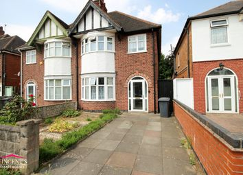 Thumbnail 3 bed semi-detached house for sale in Sybil Road, Leicester