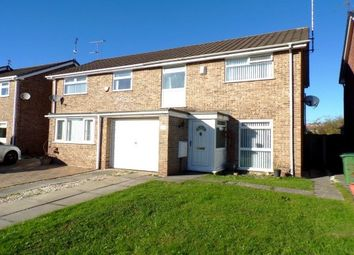 Thumbnail 3 bed semi-detached house to rent in Barfold Close, Stockport