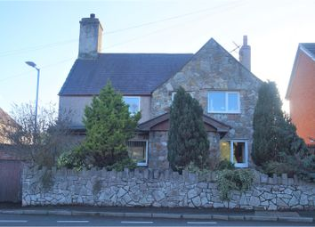 Thumbnail 4 bed detached house for sale in Ffordd Coppy, Denbigh