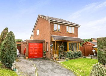Thumbnail 3 bed detached house for sale in Campbell Close, Oswestry