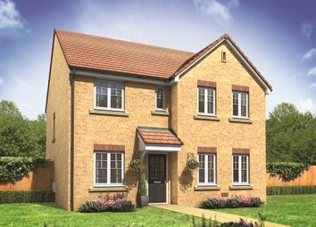 "Thumbnail 4 bed detached house for sale in ""The Mayfair"" at West Cross Lane, Mountsorrel, Loughborough"
